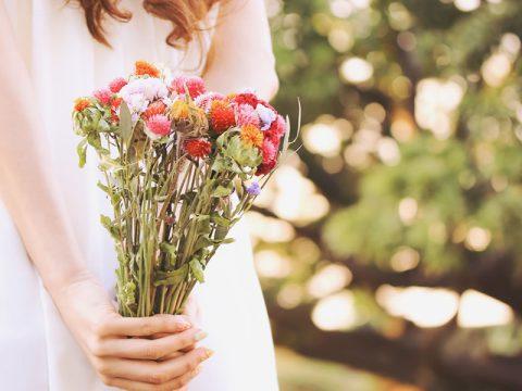 花を買いにいく