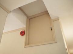 山本有三記念館の屋根裏部屋入口