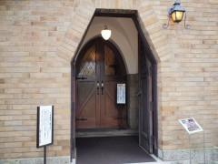 山本有三記念館の玄関