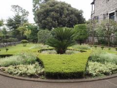 山本有三記念館の庭