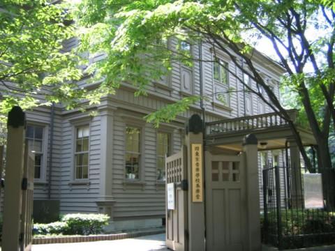旧東京音楽学校奏楽堂の外観