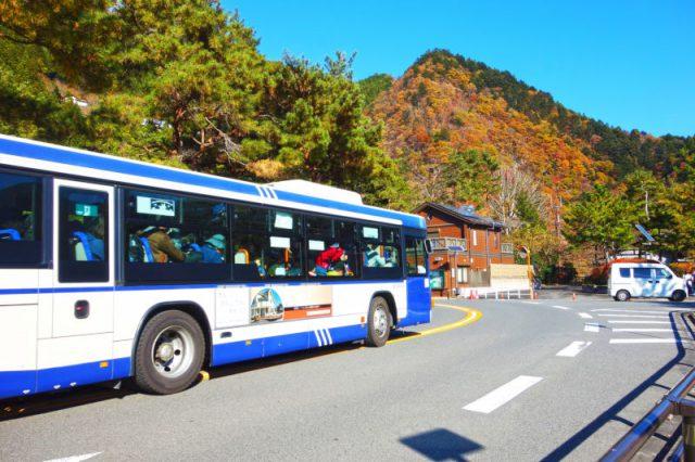観光バスツアーに参加する