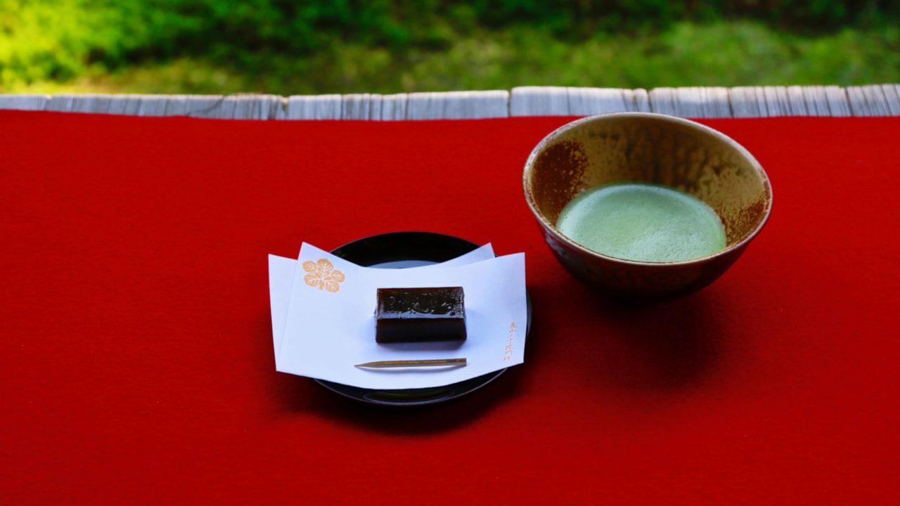 東京でお抹茶がいただける庭園