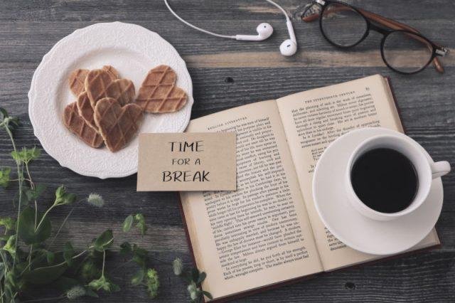 家でひたすら本を読む