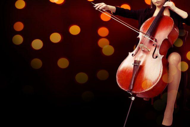 無料のコンサートで音楽を楽しむ