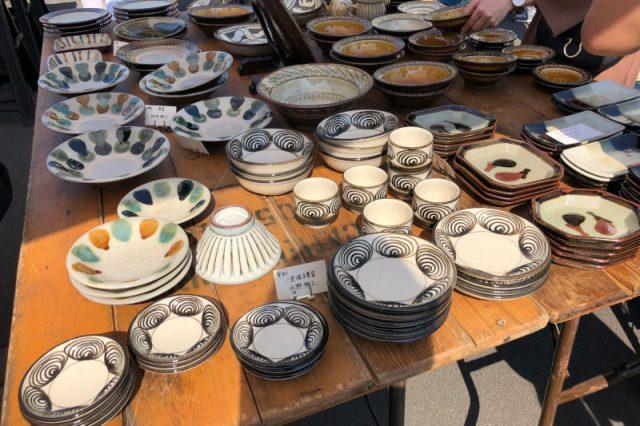 陶器市でとっておきの器に出会う