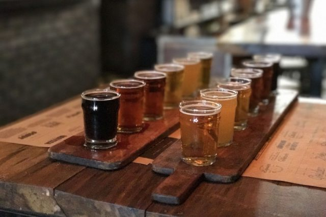 クラフトビールを飲みに行く