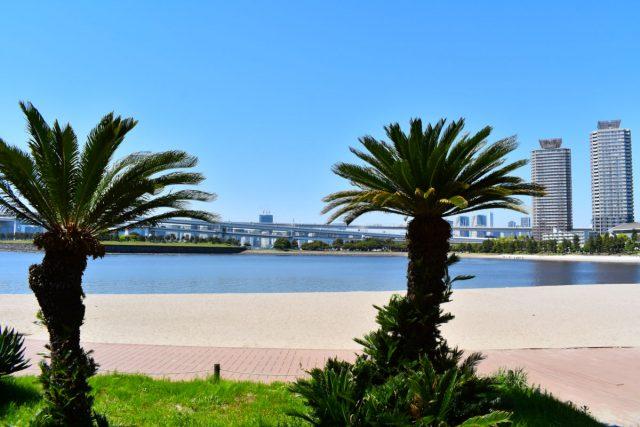 お台場海浜公園(おだいばビーチ)