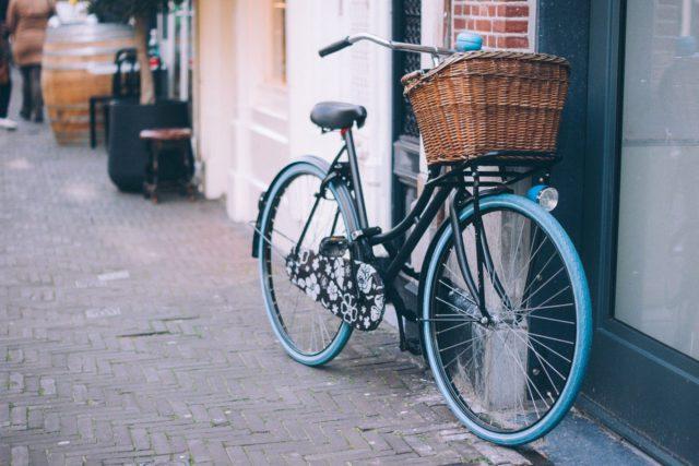 自転車に乗って遠くへ行く