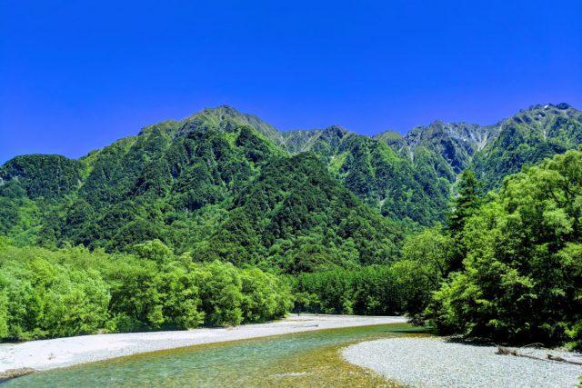 森林浴など自然に触れる