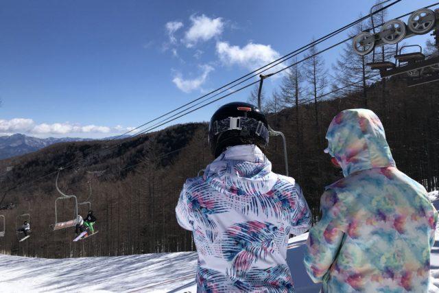 スノーボードやスキー